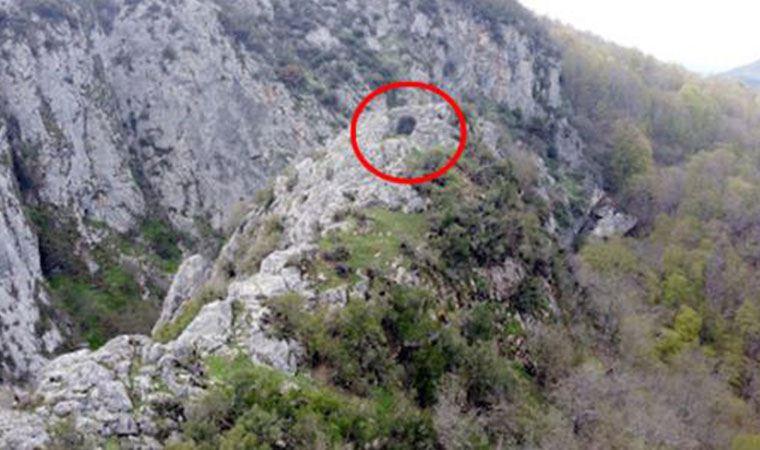 Köylüler tesadüfen keşfetti, 136 basamakla iniliyor
