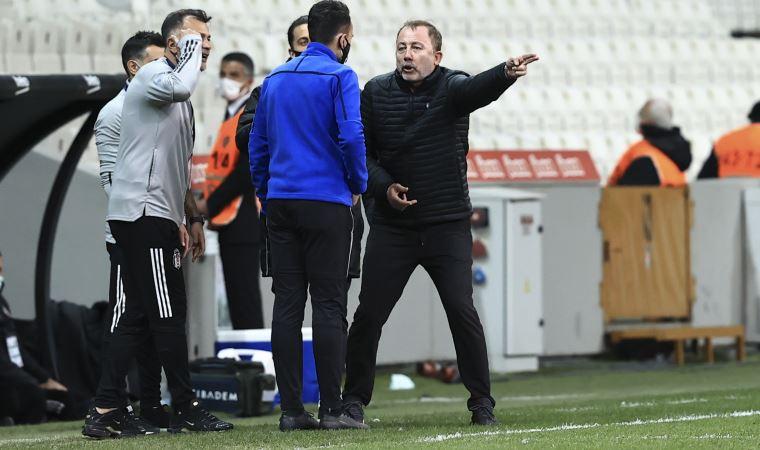 Beşiktaş-Karagümrük maçı bitti kavga çıktı