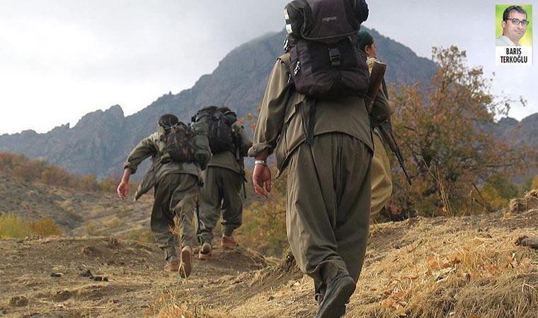 PKK'li teröristler rehine ile kendilerini patlattı
