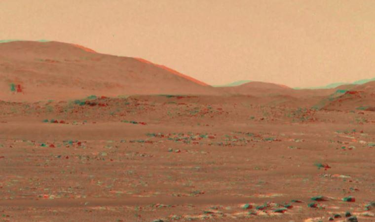 Mars helikopterinin uçuşunun 3D videosu yayınlandı