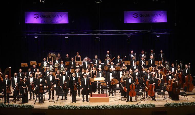 Gedik Filarmoni CRR Konser Salonu'nda
