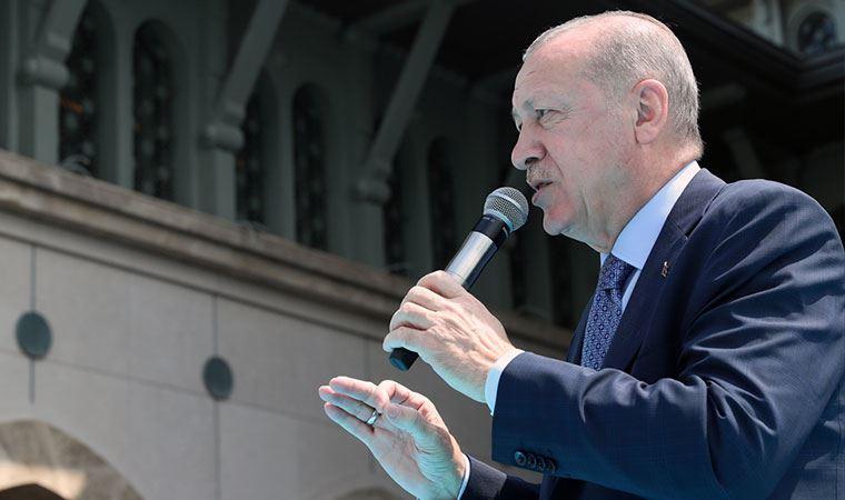 Taksim Camii'nin resmi açılışı! Erdoğan: Karşımızda Gezi olaylarını bulduk