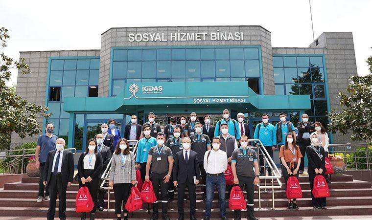 İGDAŞ Genel Müdürü Özmen deprem projesini anlattı