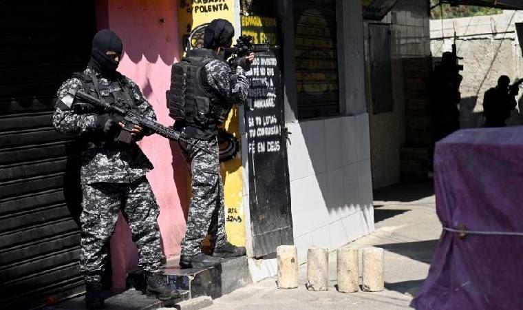 Brezilya'da silahlı çatışma: En az 23 ölü