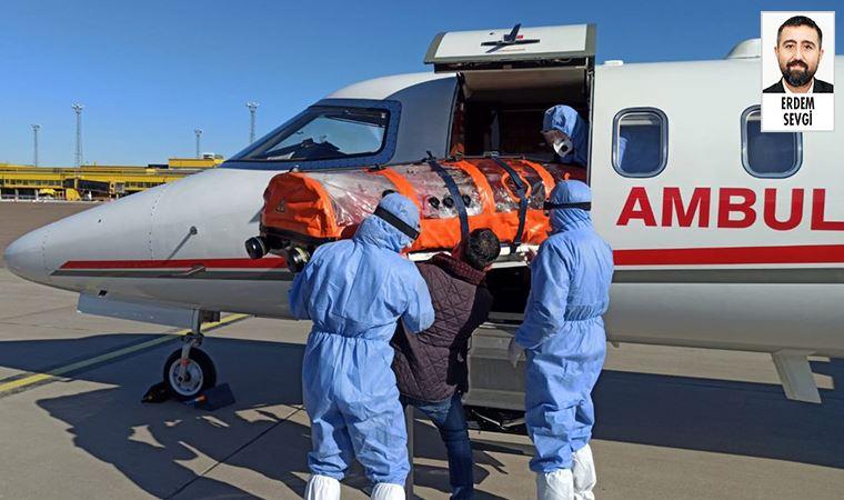 'Ambulans uçak' videosu tartışmalı çıktı