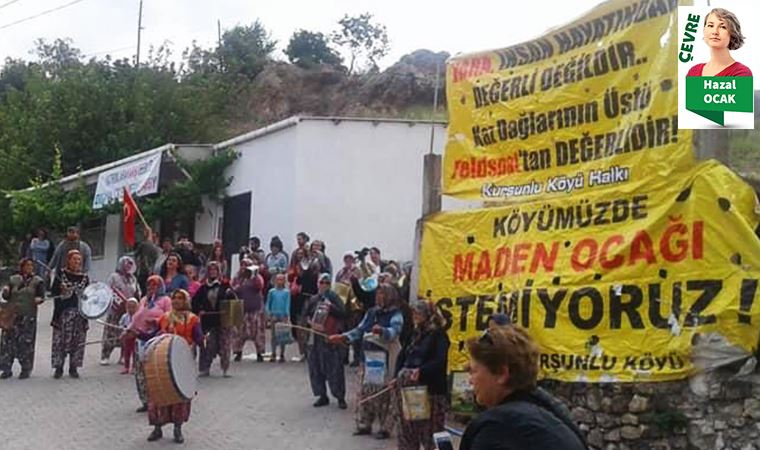 Kaz Dağları'ndaki maden ocağı yeniden gündemde