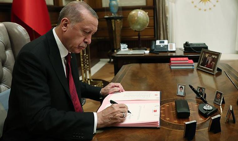 Erdoğan'dan yeni 'görevden alma' kararları
