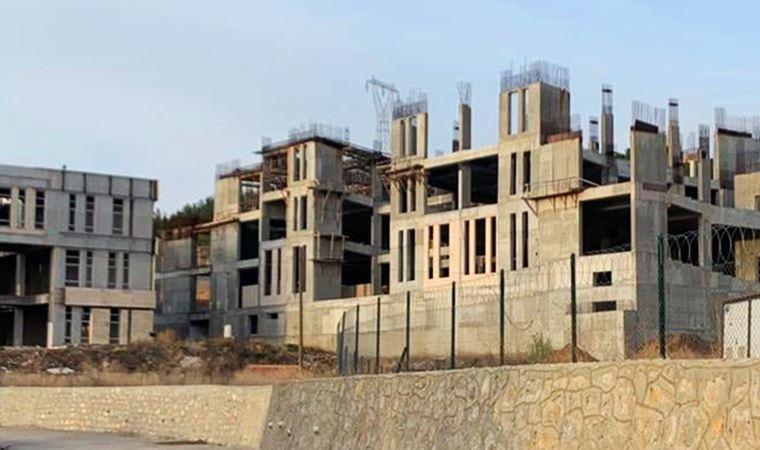 Üniversitenin inşaatı yüzde 60 tamamlanmıştı