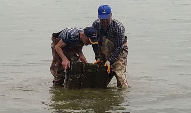 Balıkçıların ağlarına takıldı, efsane yayılıyor
