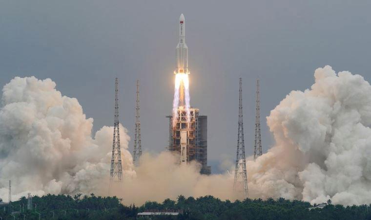 Son Dakika: Çin roketi Hint Okyanusu'na düştü