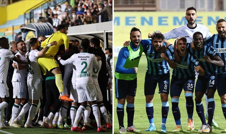 Süper Lig'in yeni takımları belli oldu!