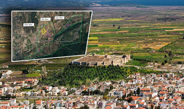 Tarım cenneti Efes Selçuk'a JES hançeri