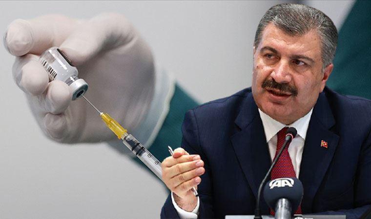 Sağlık Bakanı Fahrettin Koca açıkladı: 3 saat önce 33 milyonuncu doz aşıyı yaptık
