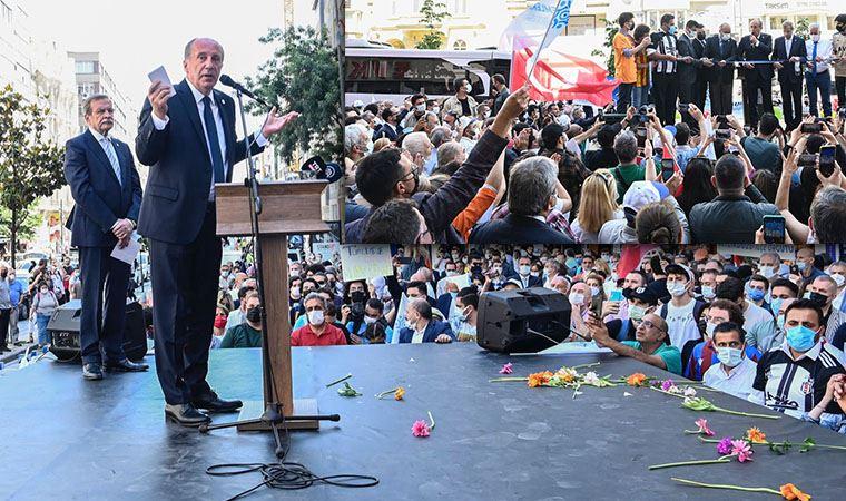 Muharrem İnce Şişli'de Erdoğan'a yüklendi: '10 bin dolar maaş alan siyasetçiyi niye araştırmıyorsun?