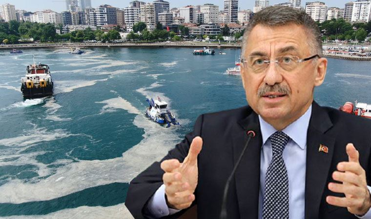Fuat Oktay, müsilaj sorununu CHP'ye bağladı! Paylaşımı tartışma başlattı