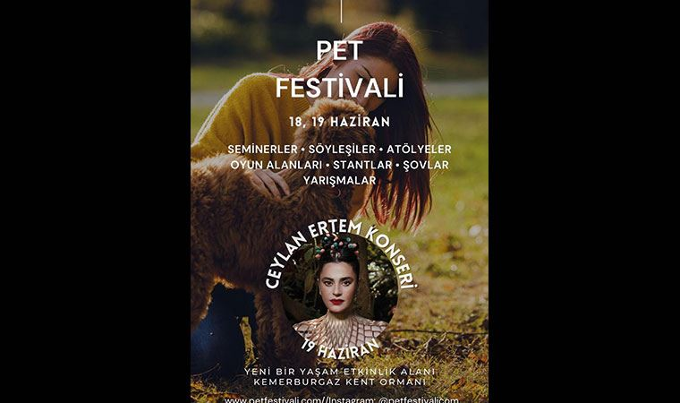 Bu festivalde kediye de köpeğe de yer var!