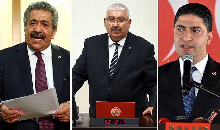 MHP kurmayları güne medyaya savaş açarak başladı