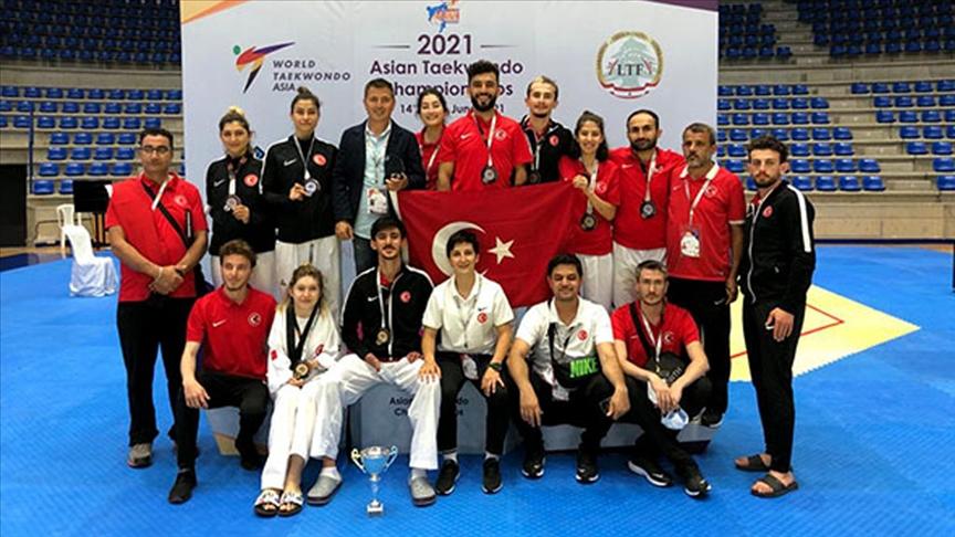 Milli para tekvandocular, Lübnan'da 8 madalya kazandı