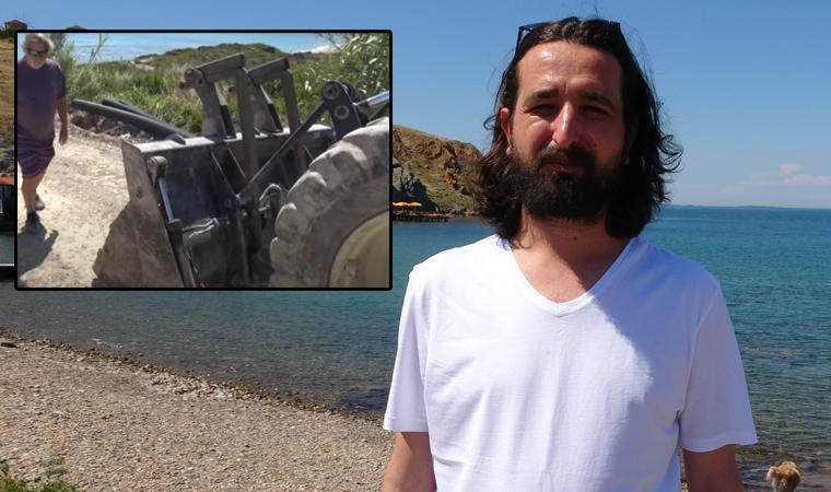 Doğa katliamını çeken gazeteci alıkonuldu