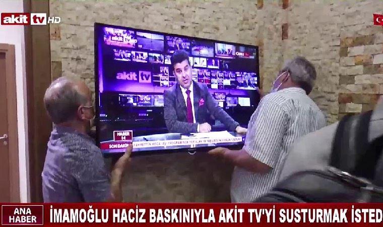 İmamoğlu'na tazminat ödemeyen AKİT TV'ye haciz