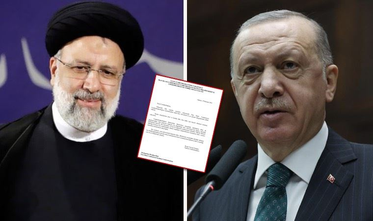İran lideri için Erdoğan'ın taslak metni paylaşıldı