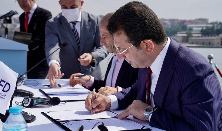 93 milyon avroluk ön protokol! İmamoğlu imzaladı