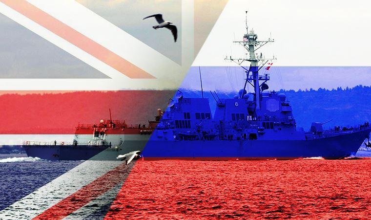 Rusya, İngiliz gemilerine ateş açtı
