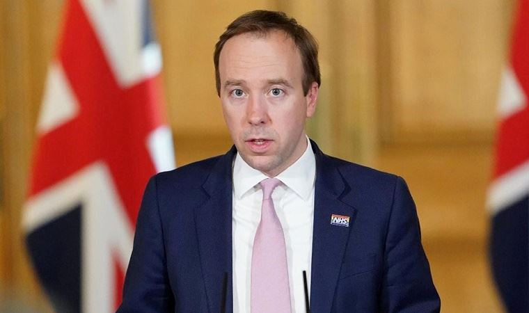 İngiltere Sağlık Bakanı Hancock istifa etti