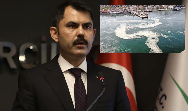 Murat Kurum'dan müsilaj açıklaması: Haliç'te ne yapıldıysa Marmara'da o yapılacak