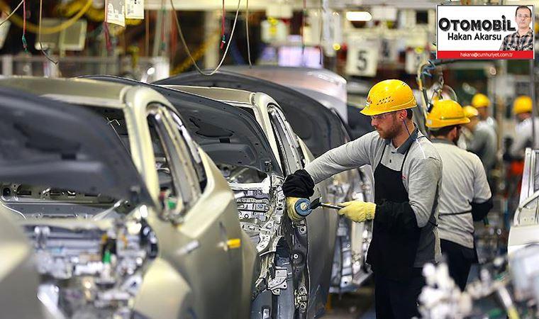 Yılın ilk yarısında toplam otomotiv üretimi 639 bin 661 adet oldu