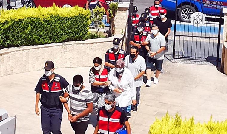 Marmaris'te FETÖ operasyonu: Motor yatla kaçmak isterken yakalandılar