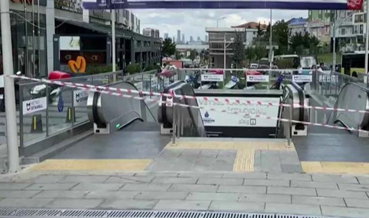 İstanbul metrosunda klima patlaması: Tahliye edildi