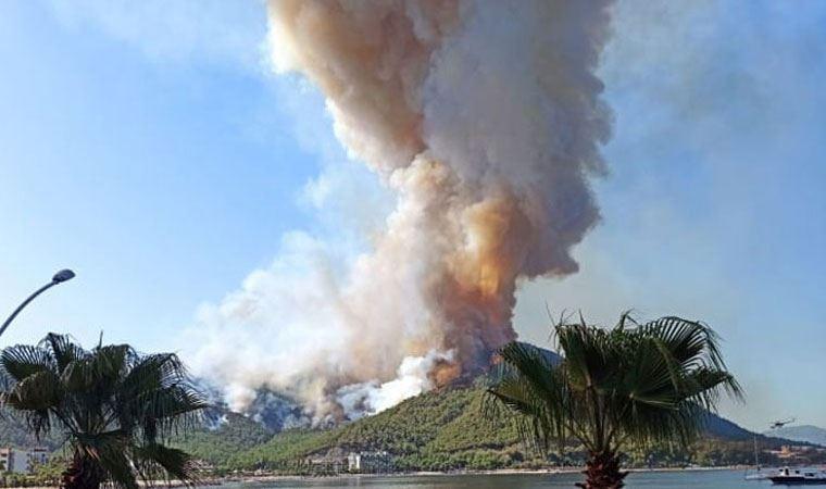 Marmaris yangınıyla ilgili savcılıktan açıklama