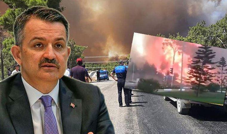 Manavgat'ta yangında bir yurttaş hayatını kaybetti