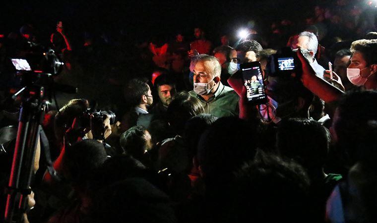 Bakan Çavuşoğlu'na Manavgat'ta protesto