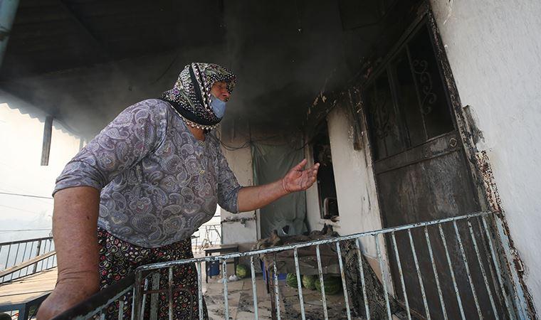 Manavgat'ta yangın kısmen kontrol altına alındı
