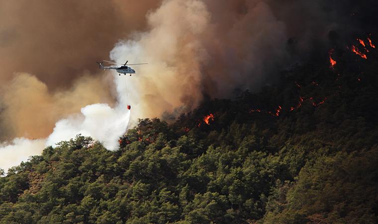 Marmaris'teki orman yangının nedeni belli oldu