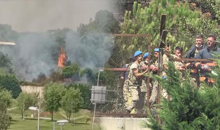 Bir yangın da İstanbul'da