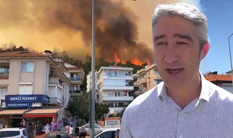 Yangınla mücadele eden belediyenin başkanından çağrı!