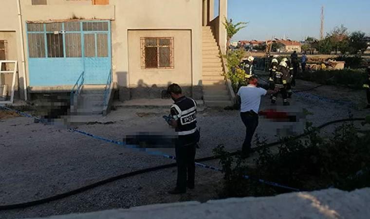 Konya'da katliam: 7 kişi yaşamını yitirdi