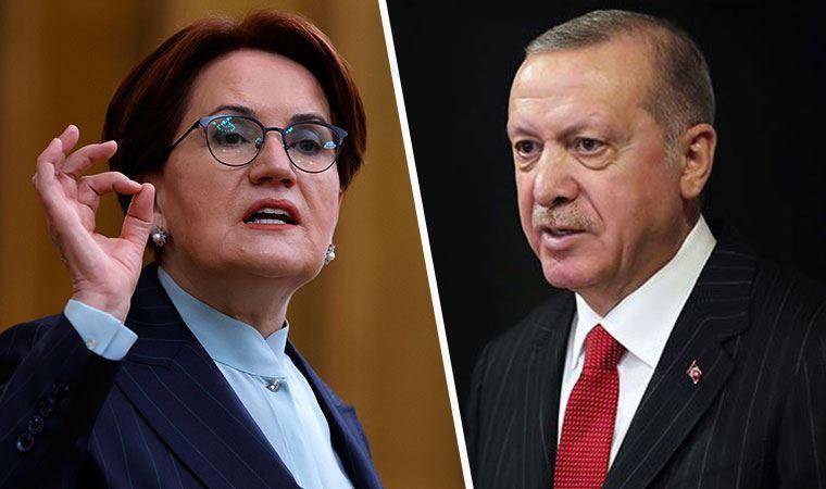 Akşener'den Erdoğan'a sert sözler