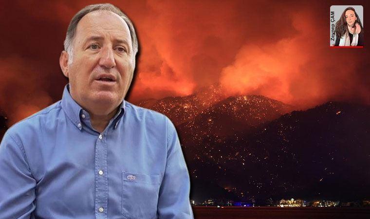 Cem Gürdeniz'den orman yangınlarına ilişkin çağrı