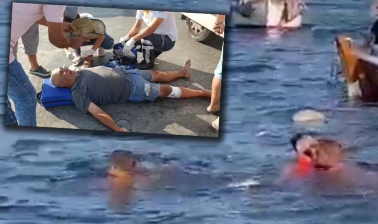 Tekne battı, arbede çıktı! Yaralılar var