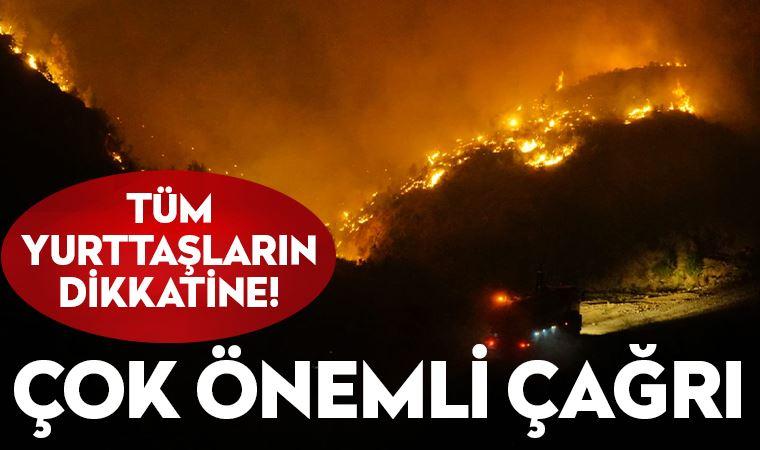 Ege'de yangınlar büyüyor! Çok önemli yardım çağrısı