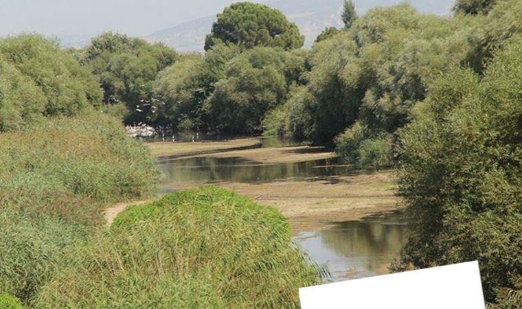 Marmara Gölü'nden sonra Gediz de kurudu