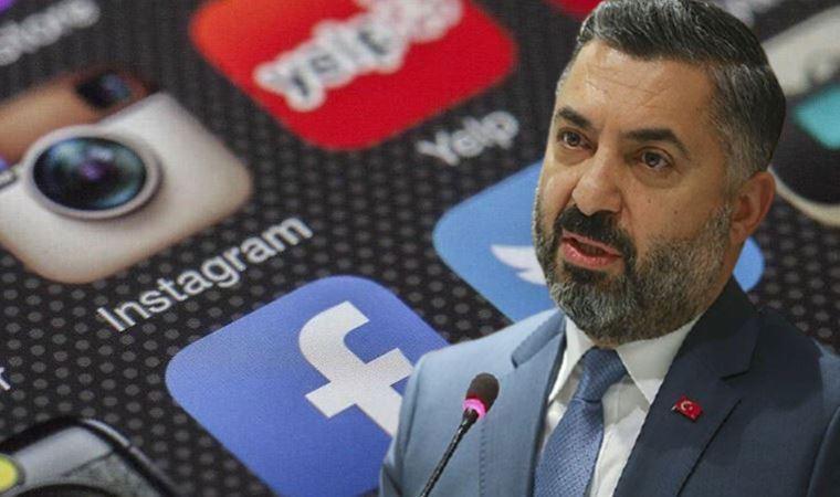 Şahin'den 'sosyal medya' düzenlemesi açıklaması