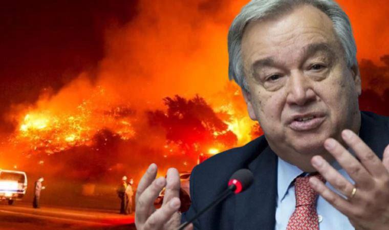 BM'den endişelendiren felaket açıklaması