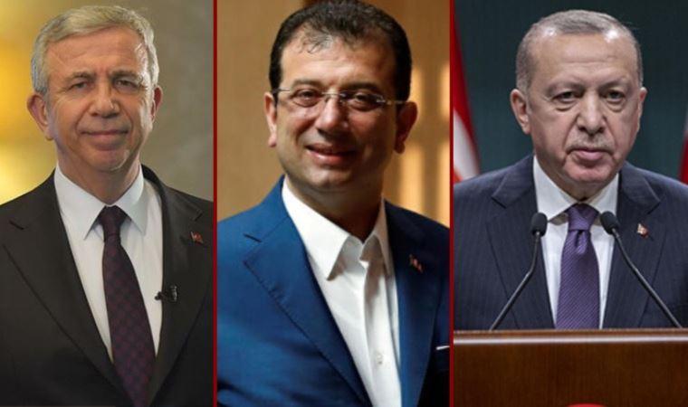 Yavaş ve İmamoğlu Erdoğan'ı geride bıraktı