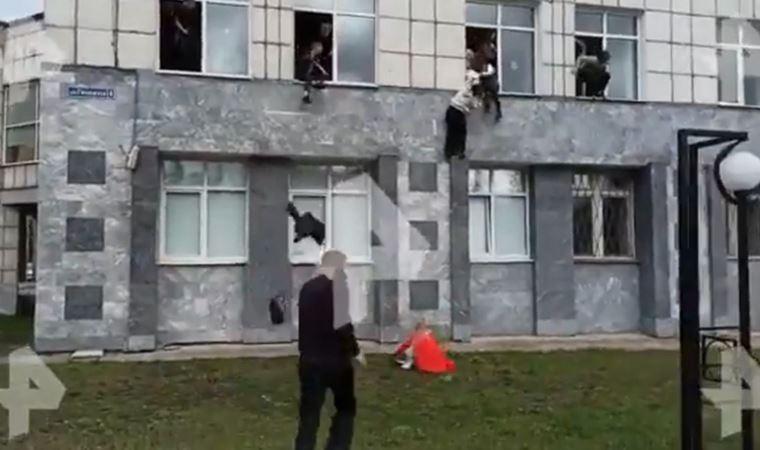 Rusya'da bir üniversiteye ateş açıldı