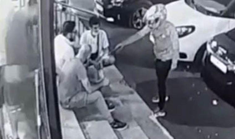 İstanbul'da kasklı saldırgan dehşeti!